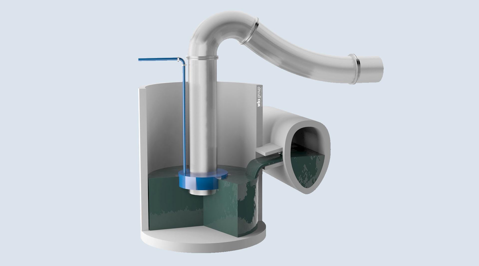 Teilmobiles Hochwasserschutzsystem – Mammut-Hochwasserschutz-Pumpanlage
