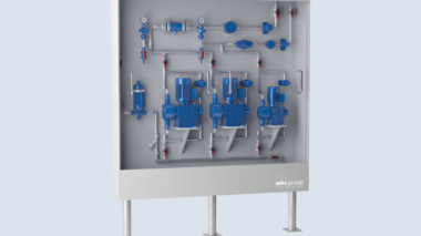 CHEMICAL METERING STATION